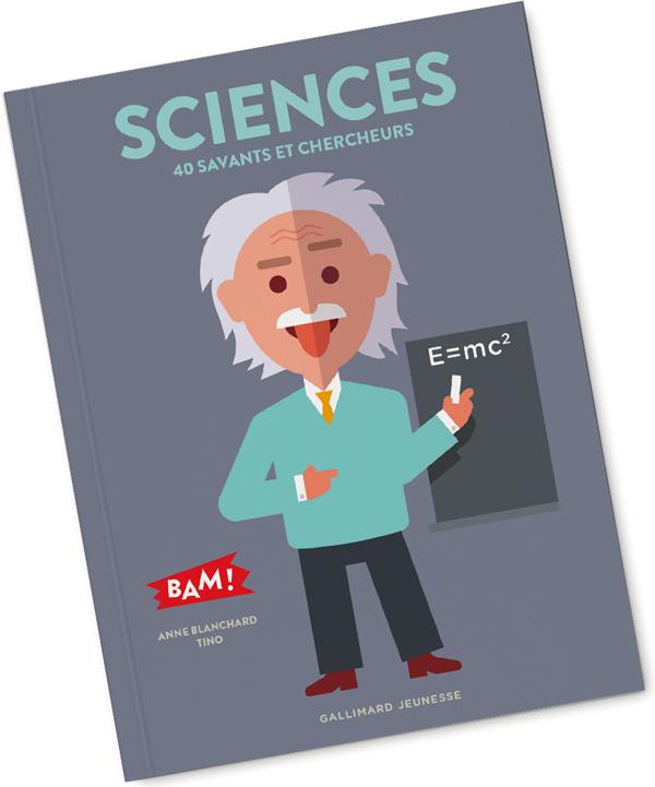 BAM ! Sciences pour Gallimard Jeunesse