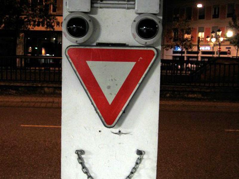 Le Gardien du parking à Strasbourg