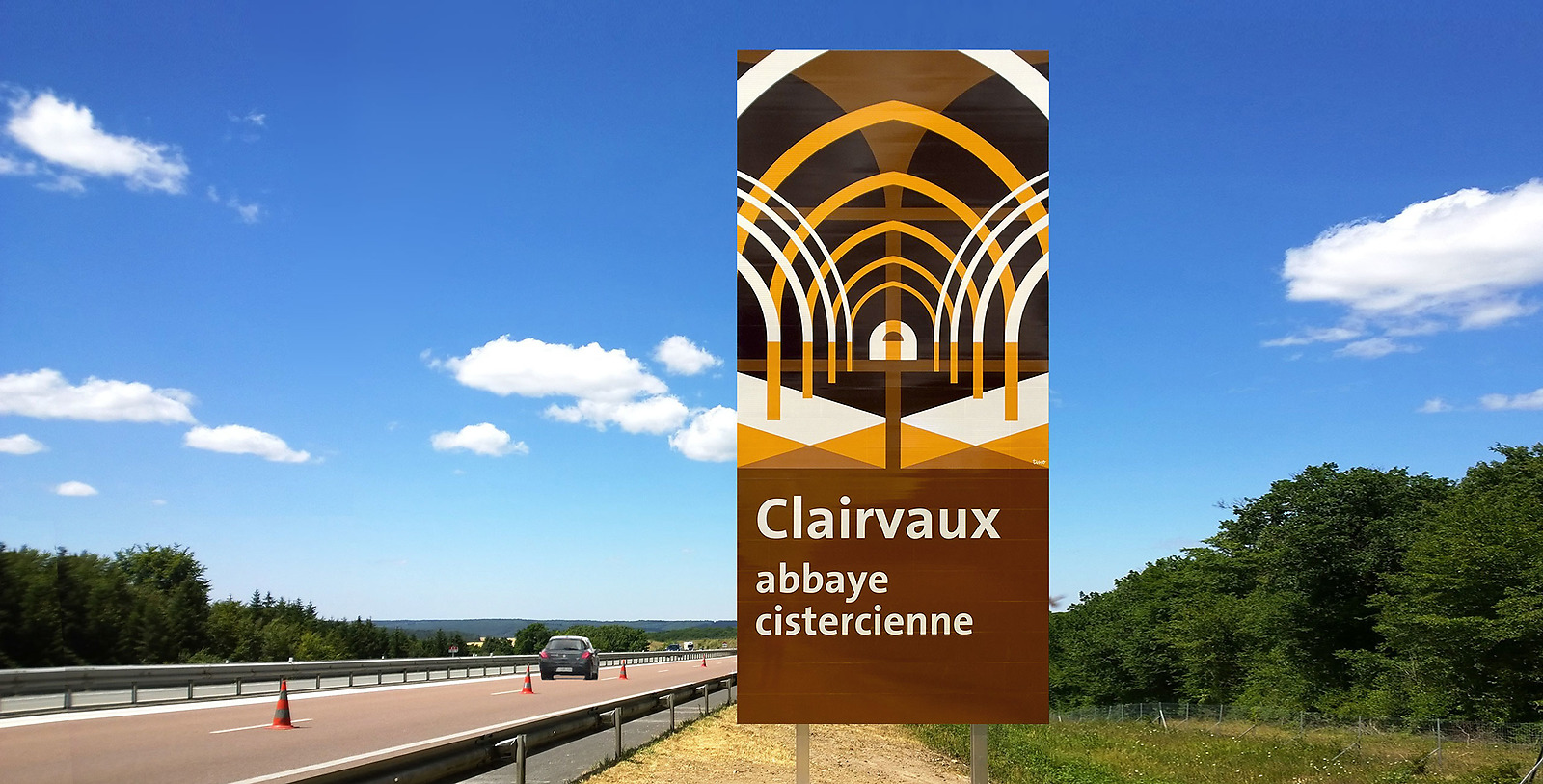 Panneaux touristiques pour APRR