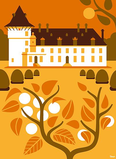 tino-tinoland-aprr-panneau-touristique-montigny-chateau