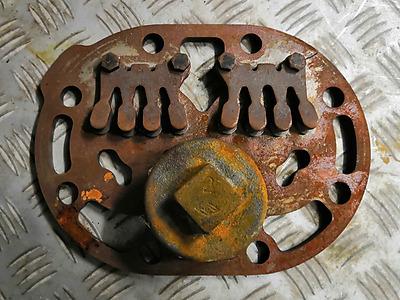 La Plaque en métal
