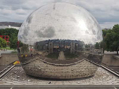 La Géode de la Cité des Sciences