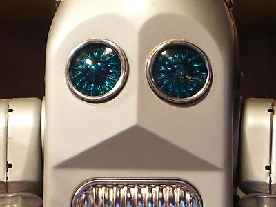 Le Robot en métal